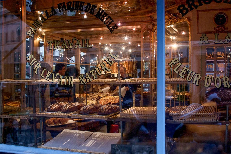 Foto del interior de Du Pain et des Idées, una panadería en París. Foto: Kevin Walsh