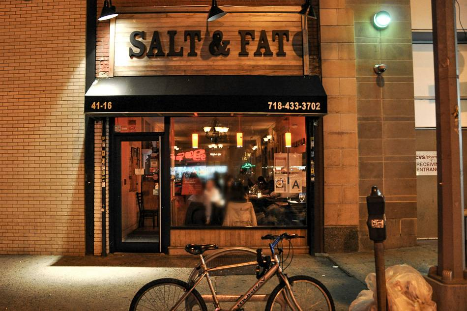 Imagen de Salt & Fat, un restaurante alternativo de Queens