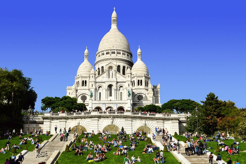 Imagen de la Basílica del Sacré Coeur
