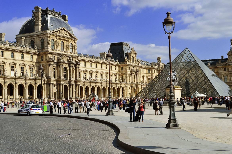 Foto del Museo Le Louvre de París.