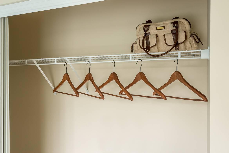 Es una buena idea dejar espacio extra por si los inquilinos quieren ir de compras. ¡Los inquilinos felices dejan buenas opiniones!