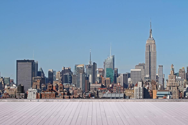 Fotografía del paisaje urbano de Manhattan