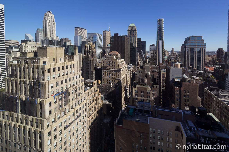 Fotografía de las vistas desde un estudio en Midtown, Manhattan
