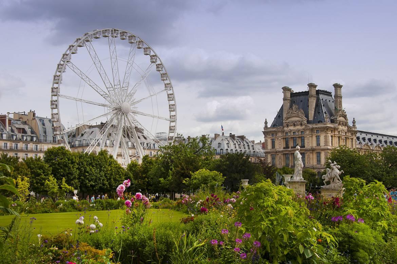 Imagen del Jardín de Tuileries