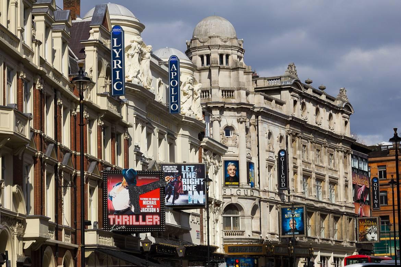 Foto del teatro del West End