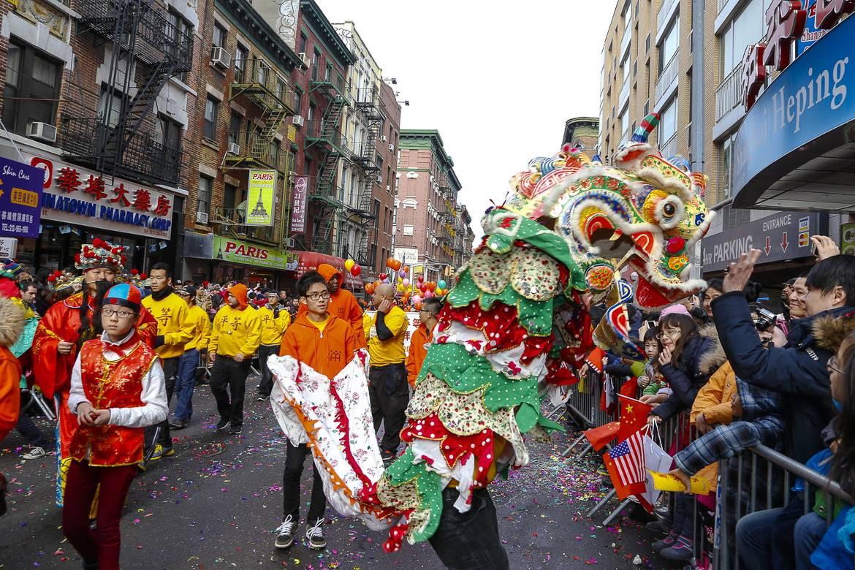 Imagen del Desfile del nuevo año lunar