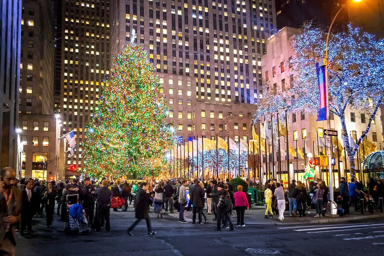 Foto del árbol de Navidad del Centro Rockefeller