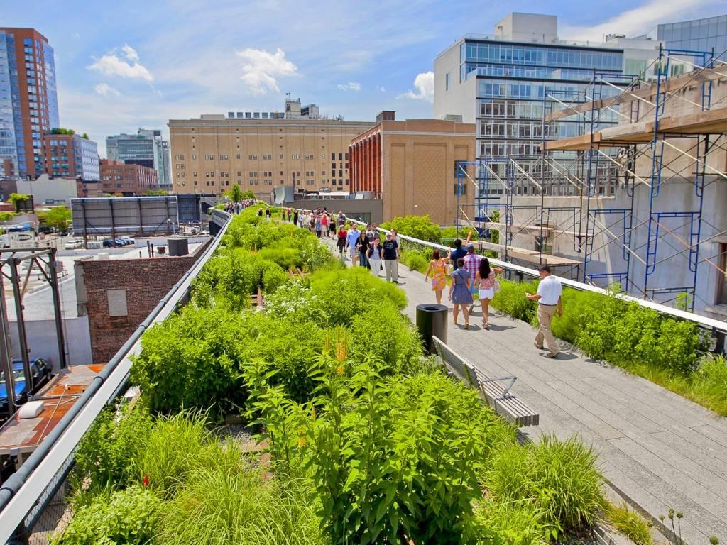 Imagen del parque High Line