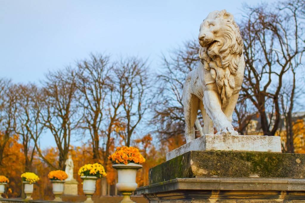 Imagen del Jardín de Luxemburgo
