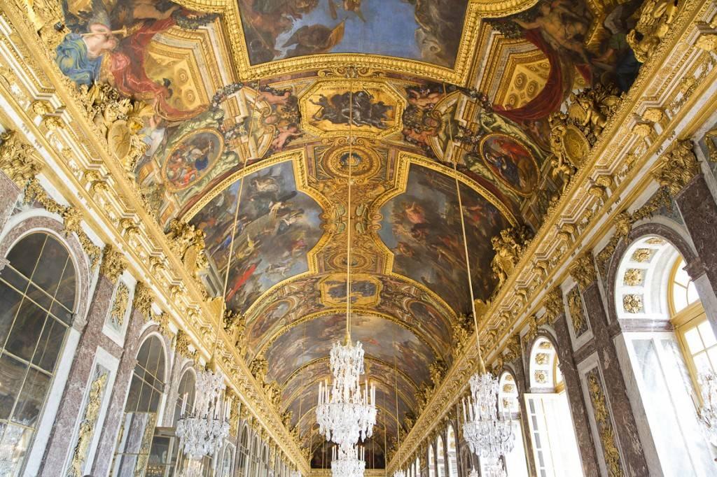 Imagen del Palacio de Versalles.