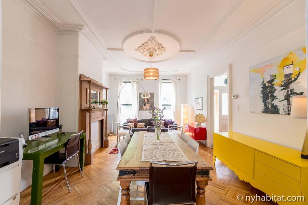 Imagen de la sala del apartamento NY-15500