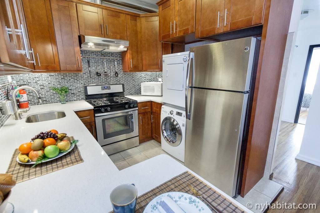 Imagen de la cocina del apartamento NY-16388