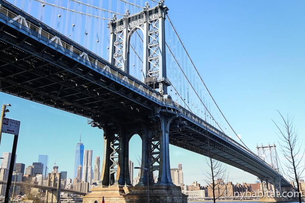 Imagen del puente de Manhattan
