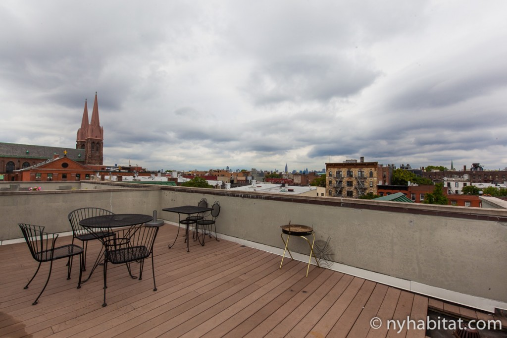 Imagen de la terraza del apartamento NY-16516
