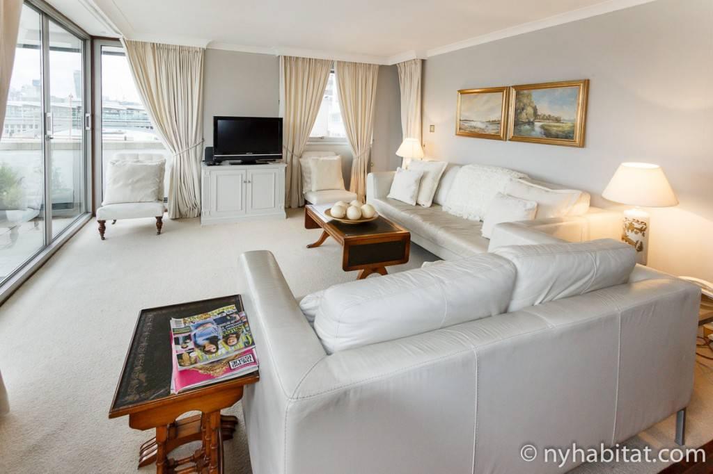 Imagen del dormitorio del apartamento LN-528