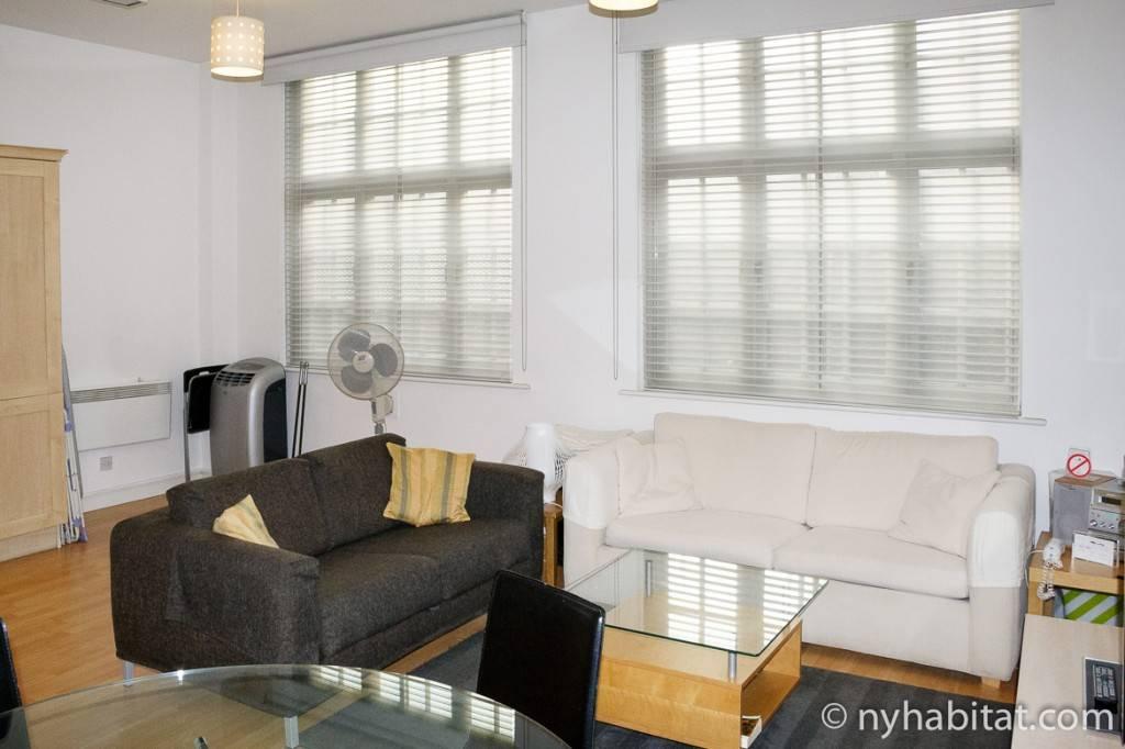 Imagen de la sala de estar del apartamento LN-1293