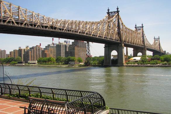 Fotografía del Puente Queensboro