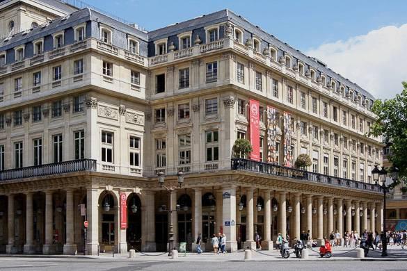 Fotografía del edificio de la Comédie-Française