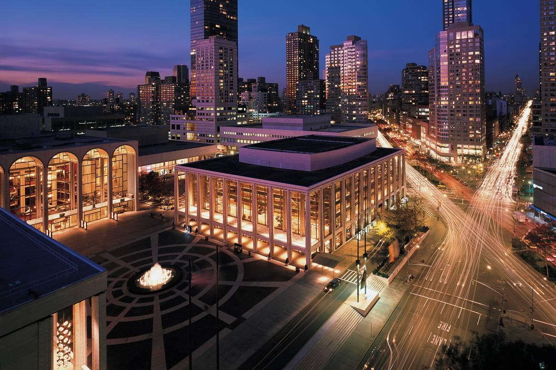 Imagen del Lincoln Center y del Upper West Side de Manhattan