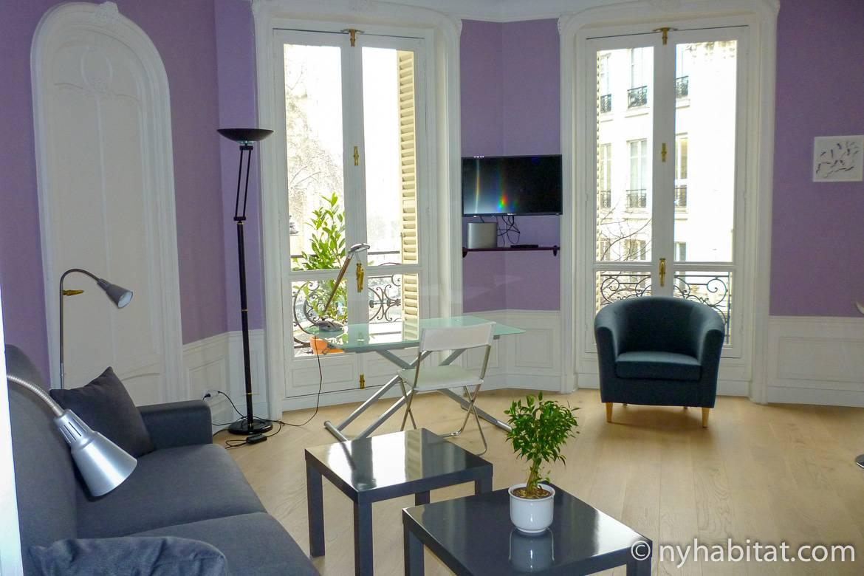 Imagen del apartamento PA-4701 con ventanas francesas