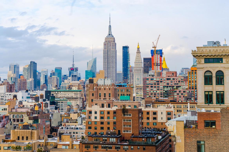 Nueva York desde el aire: azoteas en la Gran Manzana