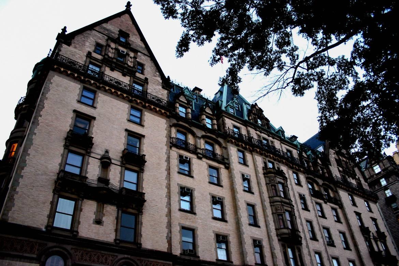 Imagen del edificio Dakota de Nueva York.