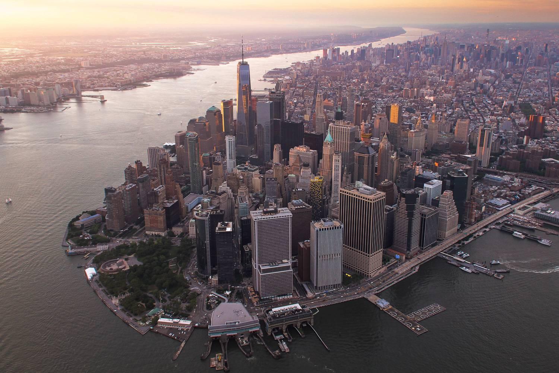 El Distrito Financiero de Nueva York desde una nueva perspectiva